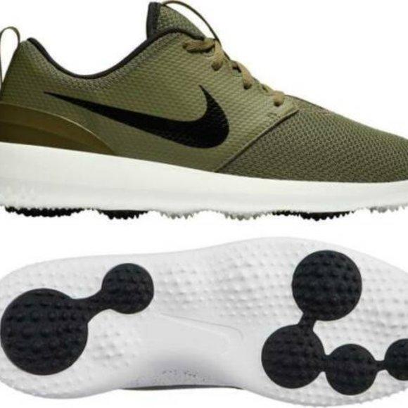 Nike Shoes   Roshe G Golf Olive Green